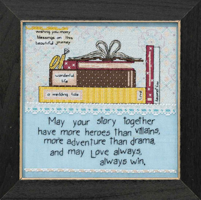Your Story Beaded Cross Stitch Kit Curly Girl 2018 Mill Hill CG301814