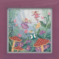 Fairy Garden Cross Stitch Kit Mill Hill 2019 Buttons & Beads Autumn MH141921