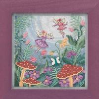 Fairy Garden Cross Stitch Kit Mill Hill 2019 Buttons & Beads Autumn MH141921