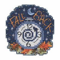 Fall Back Beaded Cross Stitch Kit Mill Hill 2019 Autumn Harvest MH181922