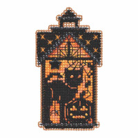 Taboo Kitty Beaded Cross Stitch Kit Mill Hill 2019 Autumn Harvest MH181921