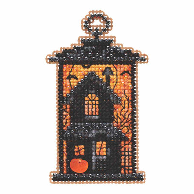 Moonstruck Manor Beaded Cross Stitch Kit Mill Hill 2019 Autumn Harvest MH181923