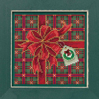 Season of Giving Cross Stitch Kit Mill Hill 2019 Buttons Beads Winter MH141936