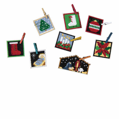 Advent Trilogy Set Three Beaded Cross Stitch Ornaments Kit 2019 Mill Hill MH191913