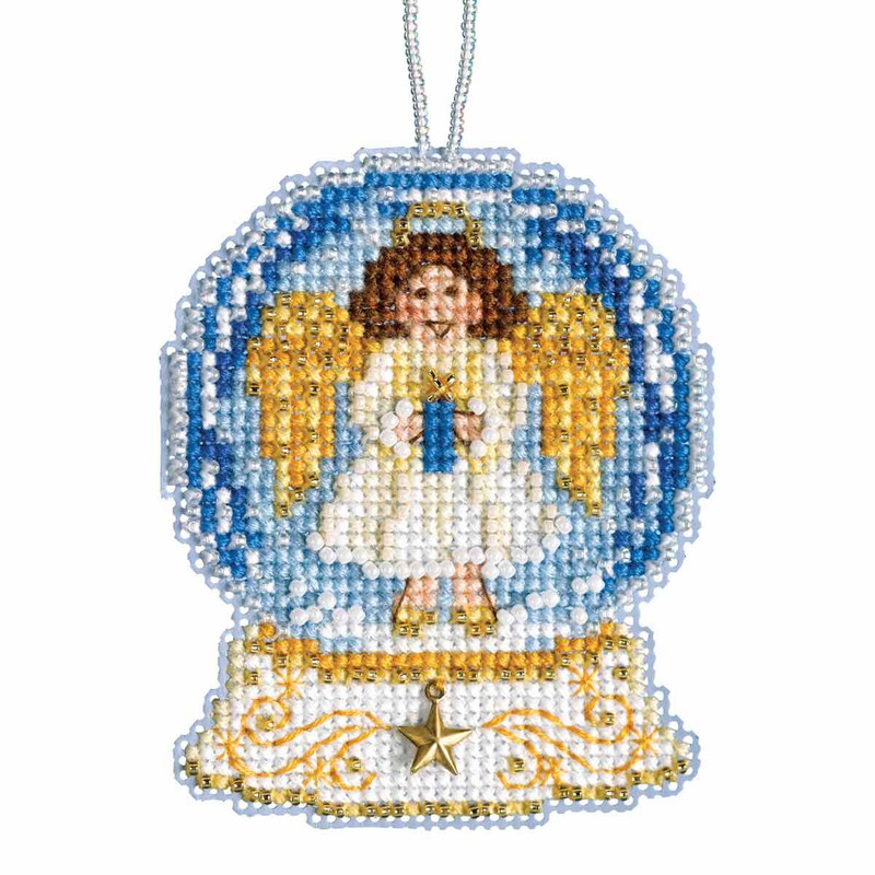 Toy Shop Snow Globe Counted Cross Stitch Kit Mill Hill 2019 Ornament MH161934