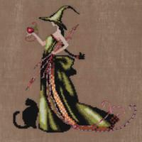 Nora Corbett Mirabilia Cross Stitch PATTERN /& EMBELLISH Pk CHERRY BLOSSOM NC169
