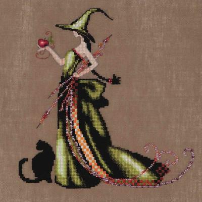 Ana Kit Cross Stitch Chart Fabric Beads Nora Corbett NC207 Mirabilia Designs