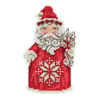 Nordic Santa Cross Stitch Kit Mill Hill 2019 Jim Shore JS201911