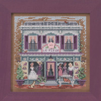 Le Fleur Boutique Cross Stitch Kit Mill Hill 2020 Buttons & Beads Spring MH142011