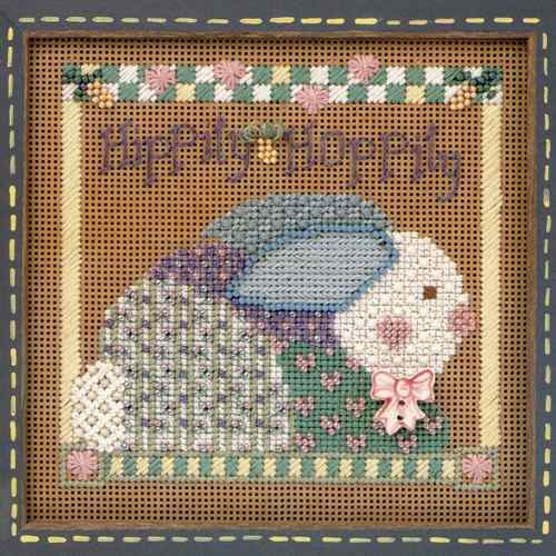 Blooming Bunny Cross Stitch Kit Mill Hill 1999 Buttons /& Beads Spring