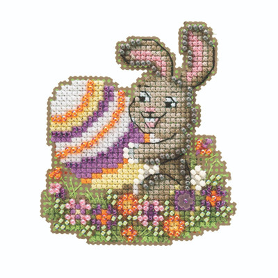 Egg-ceptional Beaded Cross Stitch Kit Mill Hill 2020 Spring Bouquet MH182012