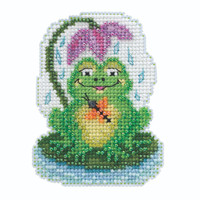 My Pad Beaded Cross Stitch Kit Mill Hill 2020 Spring Bouquet MH182015