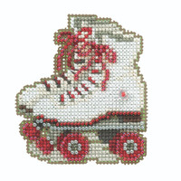 Roller Skates Beaded Cross Stitch Kit Mill Hill 2020 Spring Bouquet MH182016