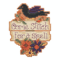 Come Stitch Beaded Cross Stitch Kit Mill Hill 2020 Autumn Harvest MH182025