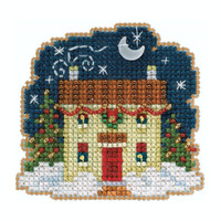 Christmas Eve Cross Stitch Ornament Kit Mill Hill 2020 Winter Holiday MH182031