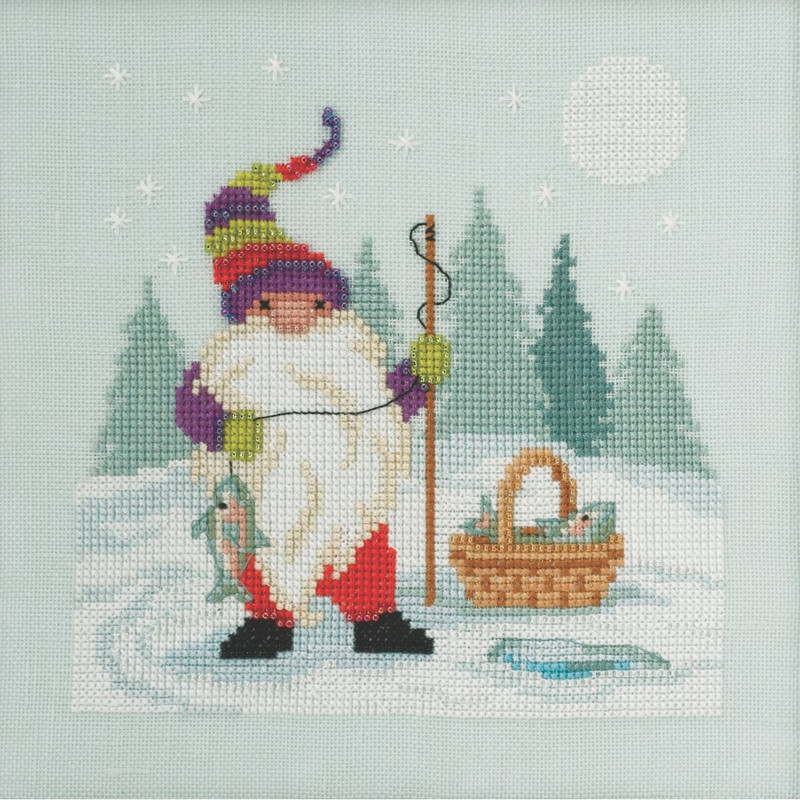 Its a Wonderful Life Beaded Counted Cross Stitch Kit Mill Hill Buttons /& Beads 2020 Winter Series MH142035
