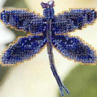Rainbow Dragonfly Bead Cross Stitch Kit Mill Hill 2000 Spring Bouquet
