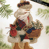 Mt Rainier Santa Bead Ornament Kit Mill Hill 2004 Mountaineer Santas