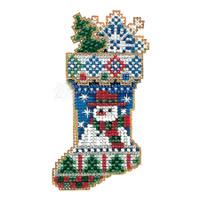 Mr Snowflake Stocking Ornament Kit Mill Hill 2004 Charmed Stockings
