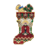 Angelic Stocking Bead Ornament Kit Mill Hill 2004 Charmed Stockings