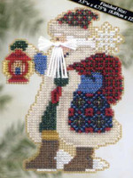 Ice Cap Santa Bead Ornament Kit Mill Hill 2005 Polar Santas