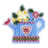Flower Showers Beaded Cross Stitch Kit Mill Hill 2005 Spring Bouquet