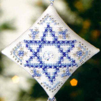 Star of David Tiny Treasured Diamond Bead Kit Mill Hill 2008