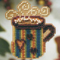 Hot Stuff Beaded Cross Stitch Kit Mill Hill 2008 Autumn Harvest