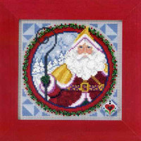 Saint Nicholas 2009 Cross Stitch Kit Mill Hill 2009 Jim Shore Santas