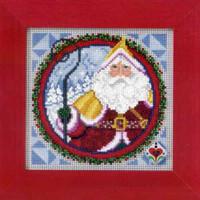Saint Nicholas 2009 Cross Stitch Kit Mill Hill 2009 Jim Shore Santas