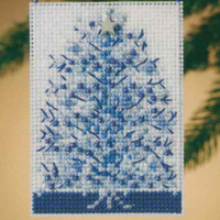 Silvery Tree Beaded Ornament Kit Mill Hill 2010 Festival of Trees