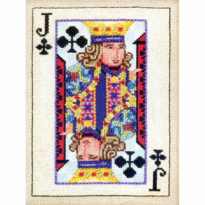 Jack of Clubs Beaded Cross Stitch Kit Mill Hill 2010 Jim Shore Cards (JS300202)