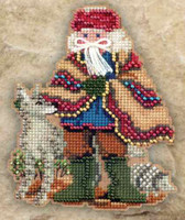 Mesa Santa Beaded Holiday Ornament Kit Mill Hill 2011 Southwest Santas