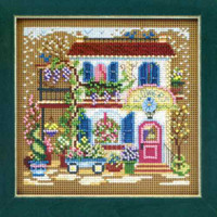 Flower Shoppe Cross Stitch Kit Mill Hill 2011 Buttons & Beads Spring