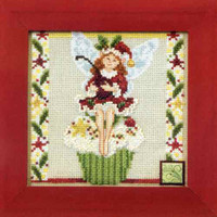 Cupcake Fairy Bead Cross Stitch Kit Mill Hill 2011 Jim Shore Fairies