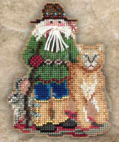 Canyon Santa Beaded Ornament Kit Mill Hill 2011 Southwest Santas