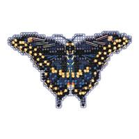 Black Swallowtail Butterfly Bead Kit Mill Hill 2011 Spring Bouquet