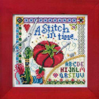Stitch in Time Cross Stitch Kit Mill Hill 2012 Buttons & Beads Spring
