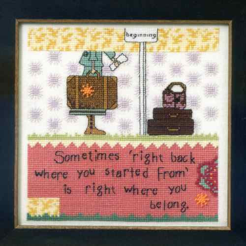 Sparkle Beaded Counted Cross Stitch Kit Mill Hill Curly Girl 2014