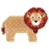Lion Heart Beaded Cross Stitch Kit Mill Hill 2012 Spring Bouquet