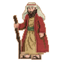 Joseph Bead Christmas Cross Stitch Kit Mill Hill 2012 Nativity Trilogy