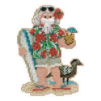 Hawaii Santa Beaded Ornament Kit Mill Hill 2012 Tropical Santas