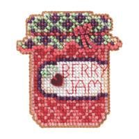 Berry Jam Beaded Cross Stitch Kit Mill Hill 2012 Autumn Harvest