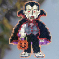 Dracula Beaded Cross Stitch Kit Mill Hill 2013 Autumn Harvest