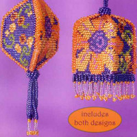 Daisy Mae Beaded Tassel Two Ornaments Kit Mill Hill 2013 Autumn
