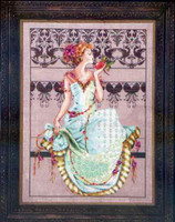 Persephone Kit Cross Stitch Chart Beads Silk Floss Mirabilia MD127