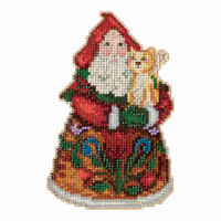 Purrfect Christmas Santa Cross Stitch Mill Hill 2013 Jim Shore Santas