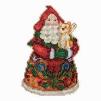 Purrfect Christmas Santa Cross Stitch Mill Hill 2013 Jim Shore Santas