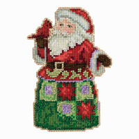 Festival Friends Santa Cross Stitch Mill Hill 2013 Jim Shore Santas