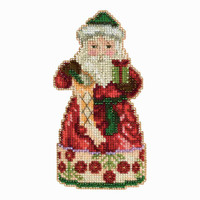 Christmas Spirit Santa Cross Stitch Mill Hill 2013 Jim Shore Santas